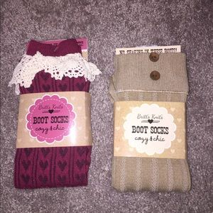 Other - Boot socks